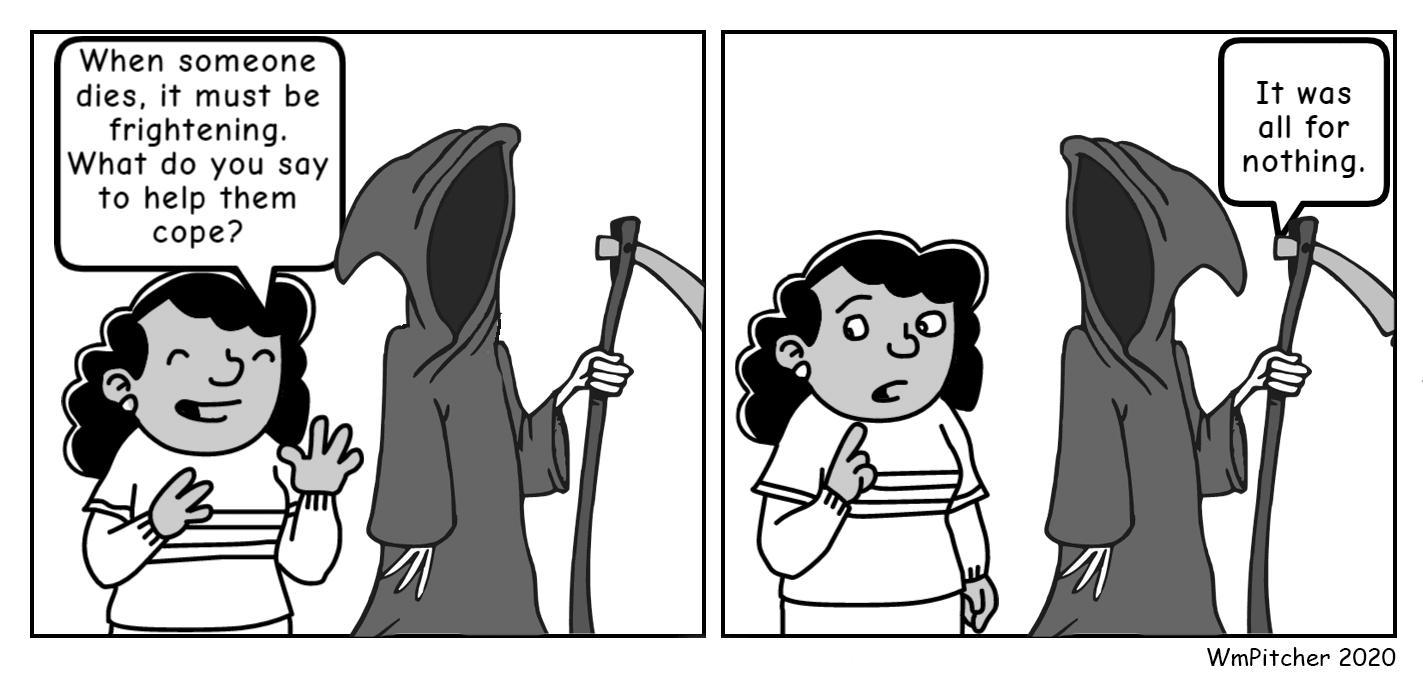 Grim Reaper Comic
