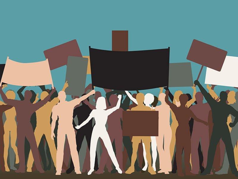 Protest Illustration