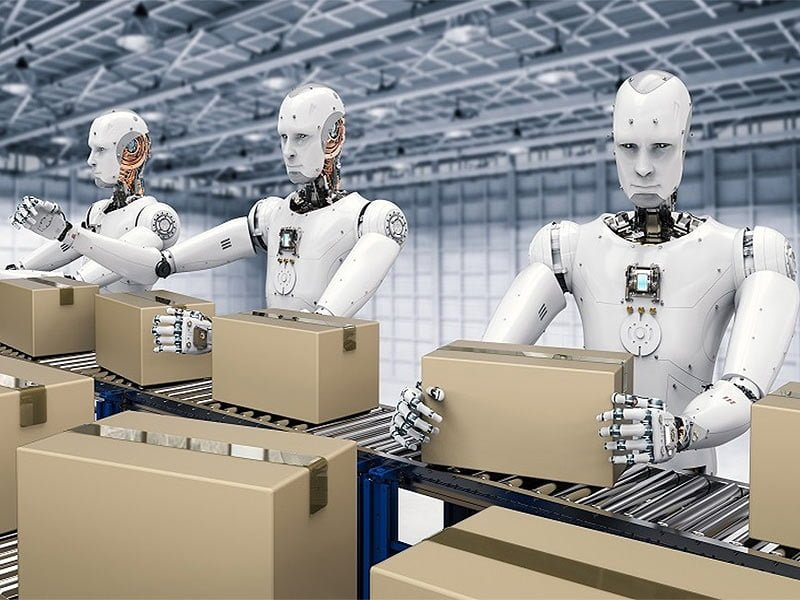 Robots Packing Boxes