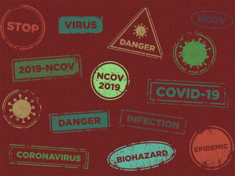 Corona Virus Background